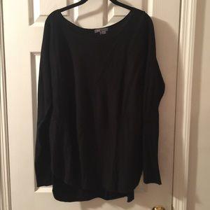 Vince cashmere blend black sweater